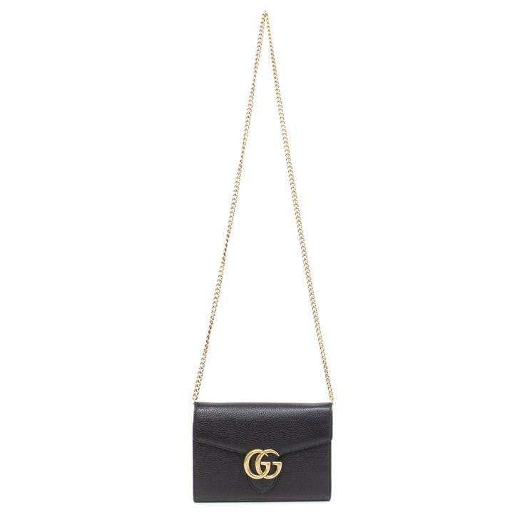 Gucci Marmont Mini Chain Bag - modaselle