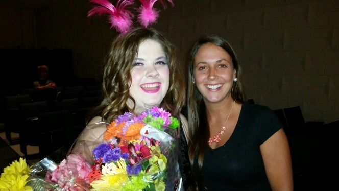 Ragan and Lauren at Seussical