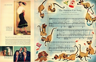 """Page from """"Look Magazine"""" featuring adorable, illustrated"""