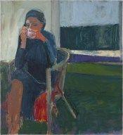 Richard Diebenkorn (American, Bay Area Figurative Movement, 1922–1993): Coffee, 1959.