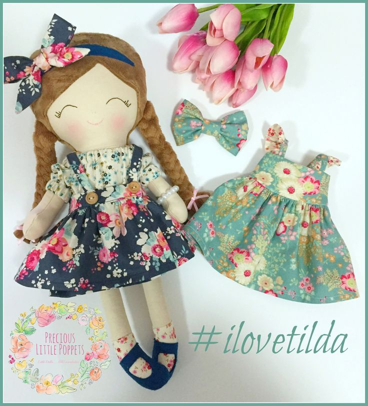 Dress Up Poppet by Precious Little Poppets