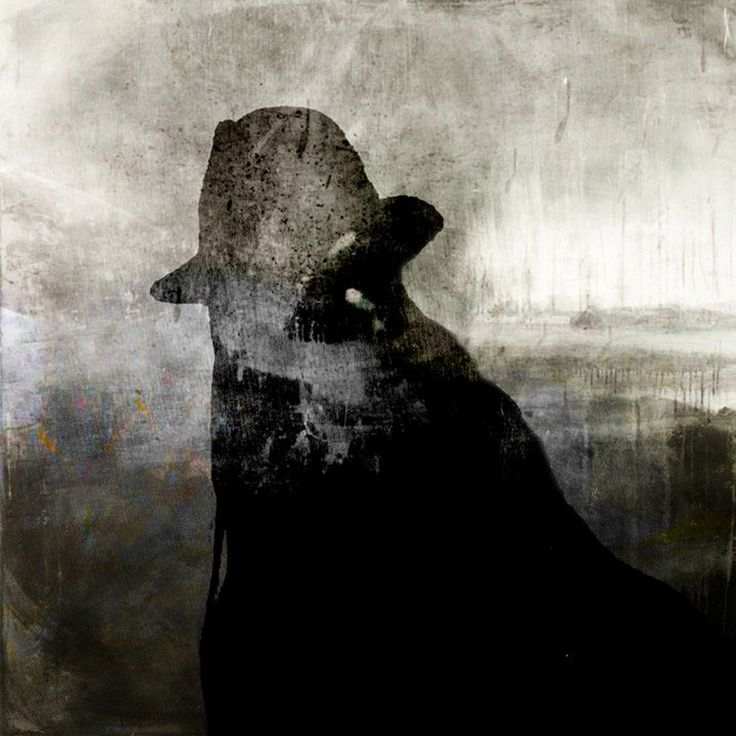 Saatchi Online Artist: eva christin laszka; Paper, 2010, Mixed Media Indian with a Stetson