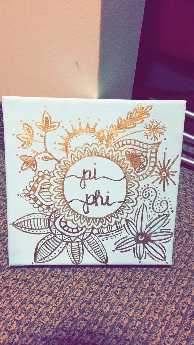 Pi beta phi big little crafting