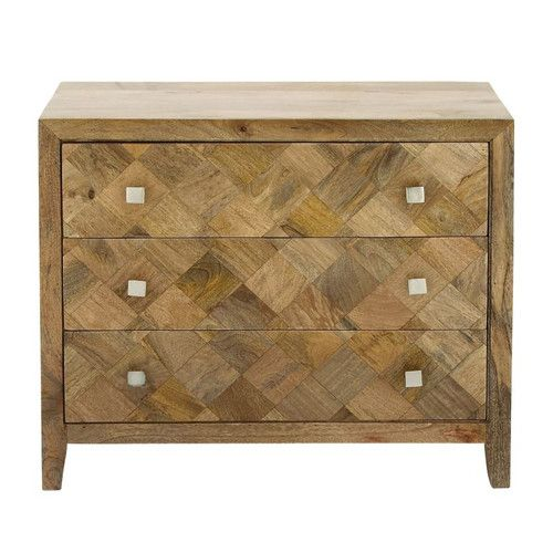 Found it at Joss & Main - 3 Drawer Wood Accent Chest