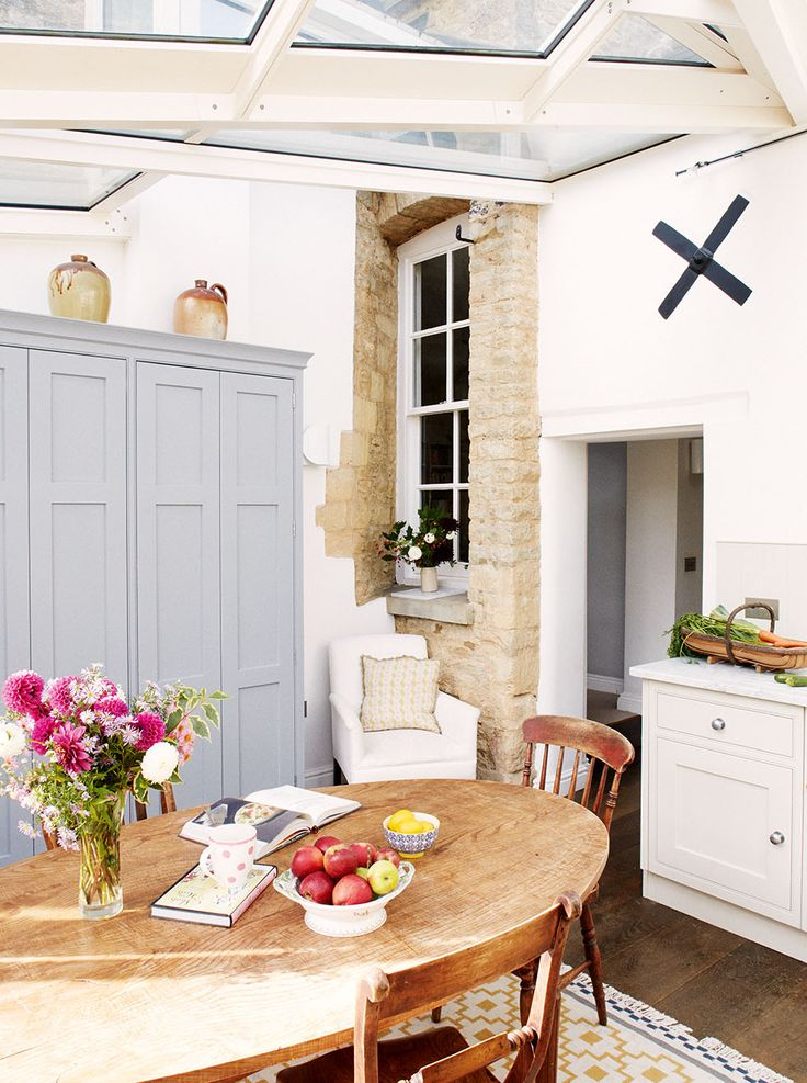 Louisa and Charlie Butters found the perfect country cottage for their growing family, but extended to gain a cosy kitchen-diner