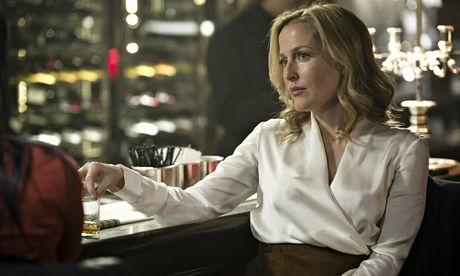 Silky skills … Gillian Anderson reprises her role as detective Stella Gibson in the second series of BBC2's The Fall.