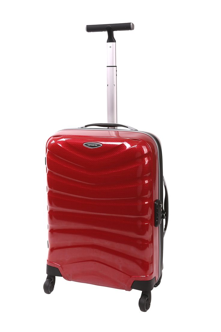 Samsonite // Firelite 55cm Spinner Case. Also available in blue and charcoal.