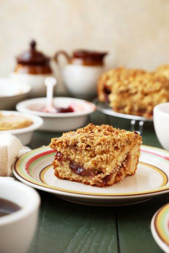 Peanut Butter and Jelly Coffee Cake - The Candid Appetite