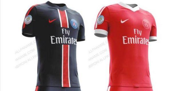 Actu Football et  transferts: PSG : Les maillots 2016/2017 ? (PHOTOS)