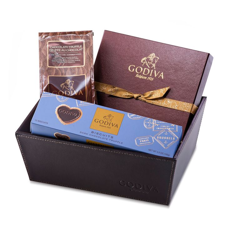 Godiva Truffle Hamper - Delivery in Switzerland by GiftsForEurope