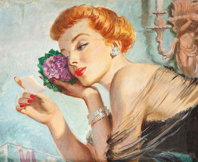 So elegantly romantic. 1950s