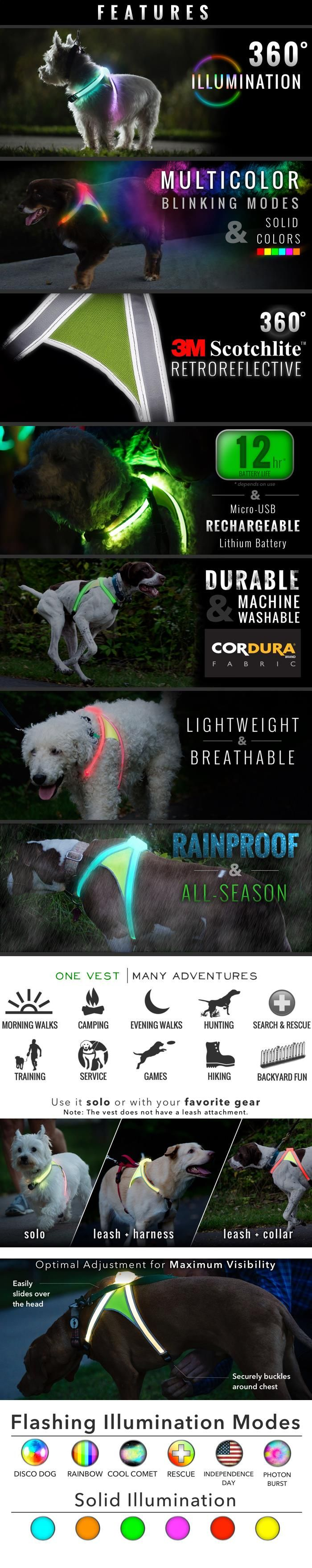 LightHound! Would love to put this on our dog while camping so we can find him when he wanders off. Would also be great for night hikes!