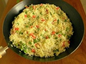Minced Cauliflower Pulao