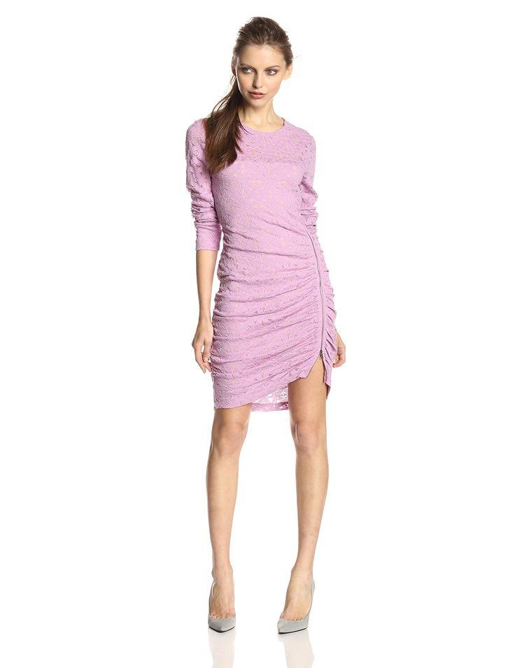 Bcbgmaxazria Women 39 S Alesandra Long Sleeve Side Zipper Dress Clothing Dre E