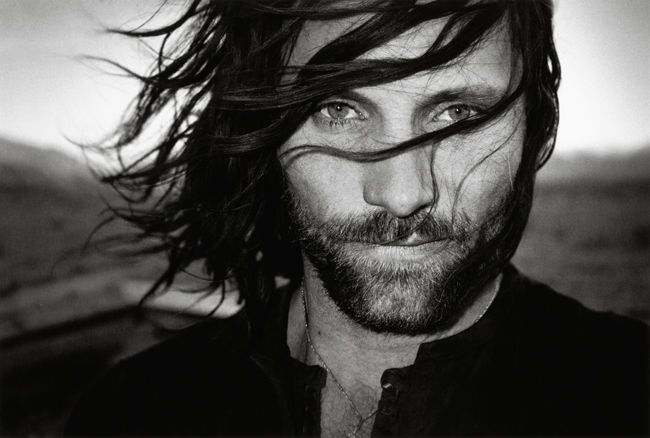 I'm diggin the whole long tousled manly locks.