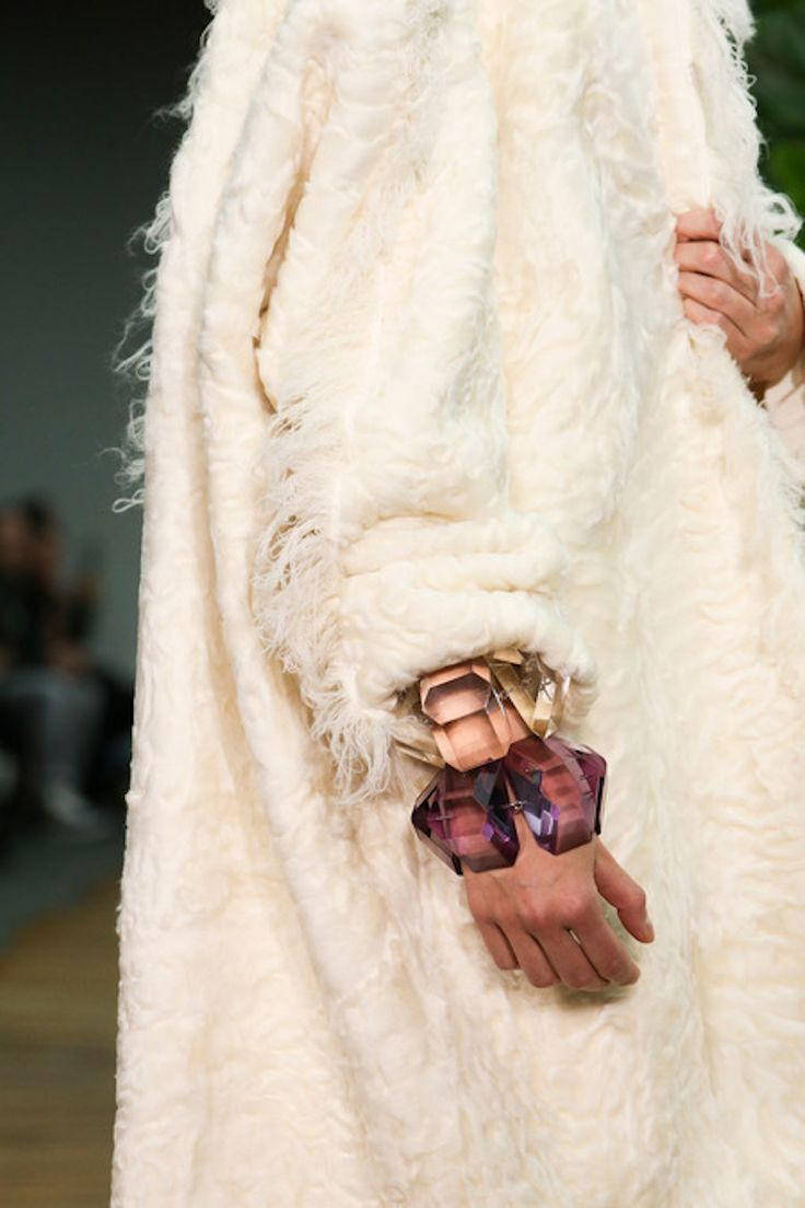 Plastic bangles / Céline AW14