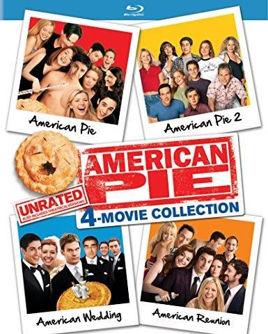 Jason Biggs & Chris Klein & Jesse Dylan & J.B. Rogers -American Pie: Unrated 4-Movie Collection American Pie / American Pie 2 / American Wedding / American Reunion