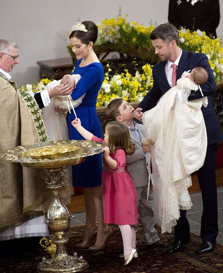 14 April 2011 - Christening of Prince Vincent & Princess Josephine, Holmens Kirke
