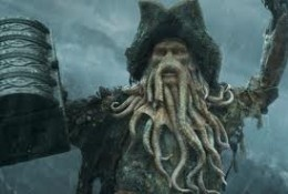 Davy Jones is a fictional character from the Pirates of the Caribbean film series, loosely based on the old seaman's legend of Davy Jones' Locker.