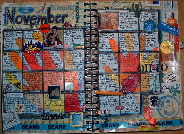 Art Journal Calendar Pages : Best planners and calendars for journaling images on
