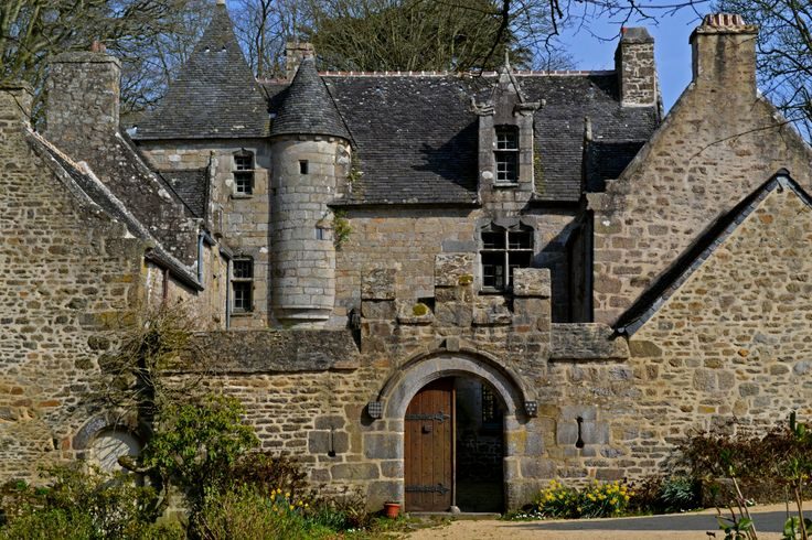 Manoir de Kersaliou à Saint-Pol-de-Léon, northern Finistere Brittany