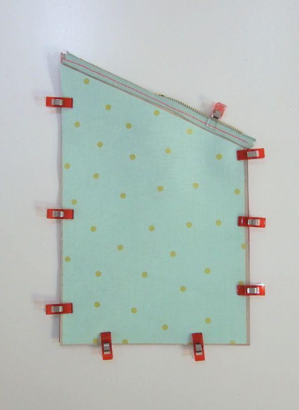 Fold-Over Leder-Clutch Tutorial