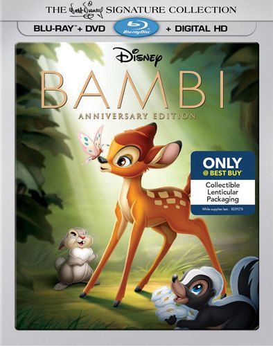 Bambi Signature Collection Blu-Ray Review: Dear-ly Beloved