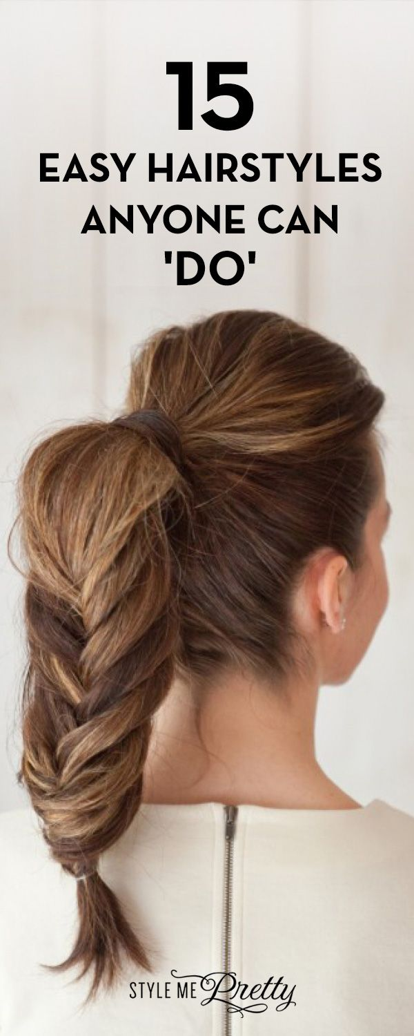 15 Easy Summer Hairstyles Anyone Can Do Bridal Hairstyles