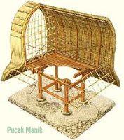 Lumbung Padi, tempat menyimpan hasil panen untuk persediaan makan keluarga