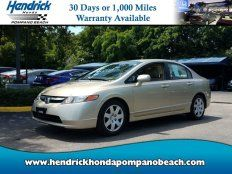 Used 2007 Honda Civic LX for sale in Pompano Beach, FL 33064