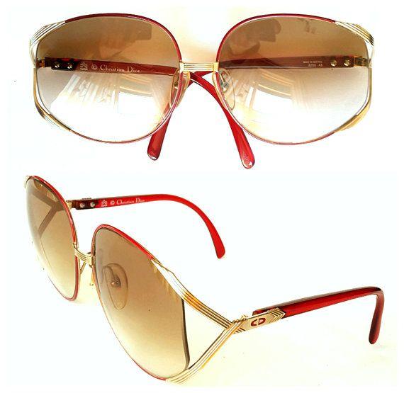 7276857eed31 NEW VINTAGE Christian Dior 2250 Massive Frames Women Dior Fashion, Vintage  Cufflinks, French Fashion