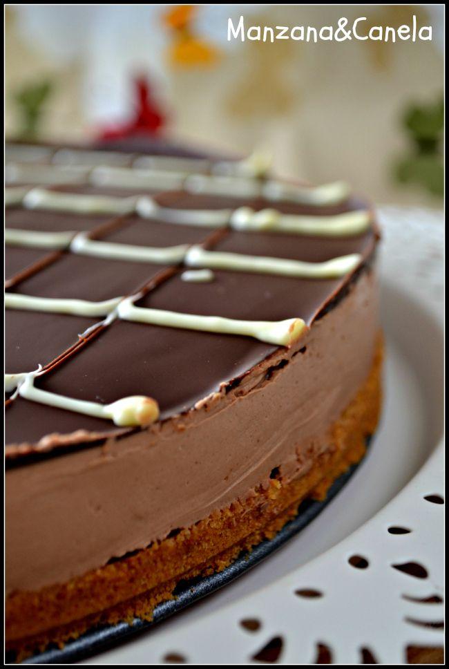 Manzana&Canela: Cheesecake de chocolate