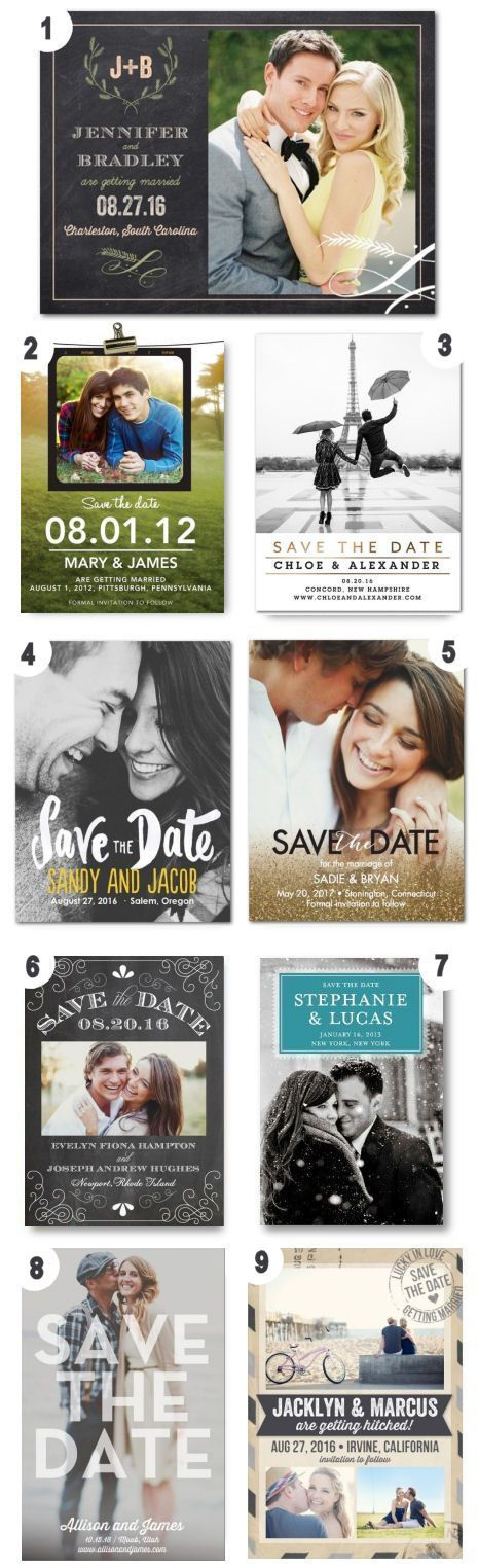 Timeless Save The Date Designs ❤︎  #wedding #announcement