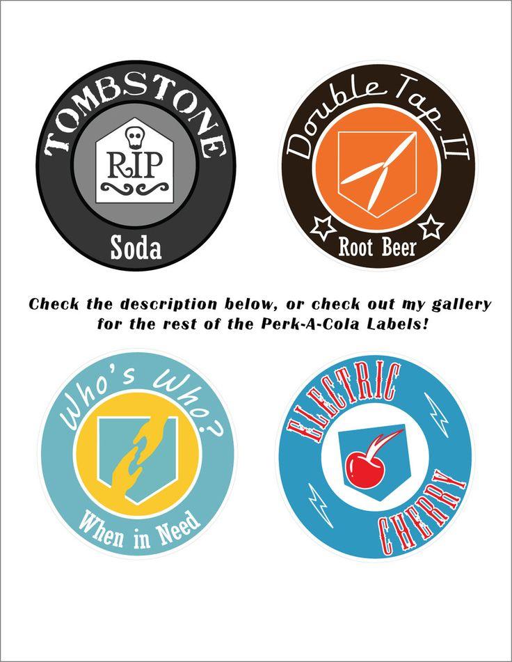 Perk-A-Cola Labels 3 by TBoneCaputo.deviantart.com on @DeviantArt