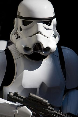 An Imperial Stormtrooper by Jeff_B., via Flickr