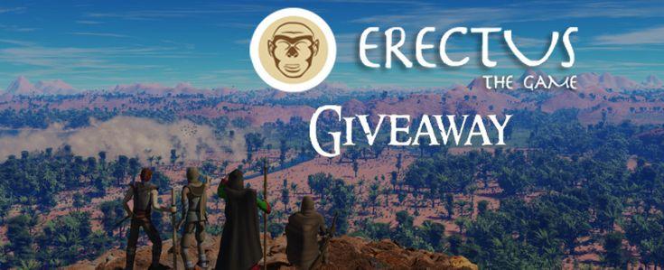 Otrzymaliśmy do rozdania 1.000 kluczy umożliwiających dołączenie do rozgrywki w aktualnie trwającym etapie zamkniętych beta testów Erectus The Game.