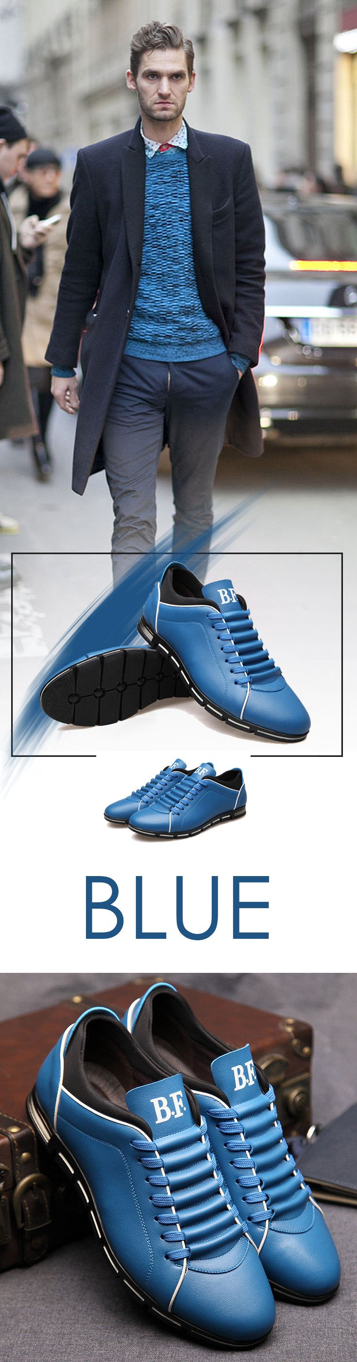 Men's British Urban shoes - Clean style and look at the best value - #streetstyle men's attire style brand affordable fashion UK leather casual sneaker #mensshoes #menstyle #menfashion #menstyle