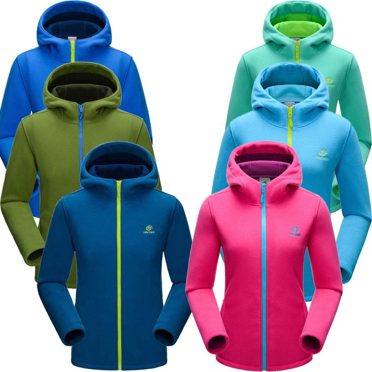 Men Women Lovers Polar Fleece Hiking Golf Hoodie Coat Outdoor Soft Casual Jacket #TECTOP #FleeceJacket #Outdoor