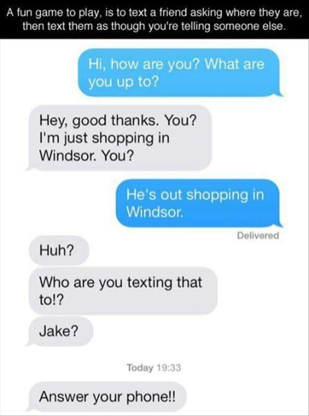 Funny Pictures Of The Day – 74 Pics - Phone Pranking to a whole new level
