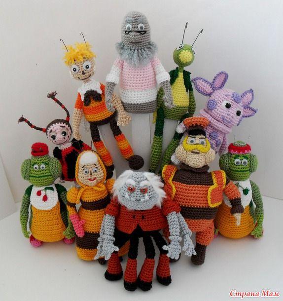 Пальчиковый театр Лунтик и его друзья (10 персонажей)