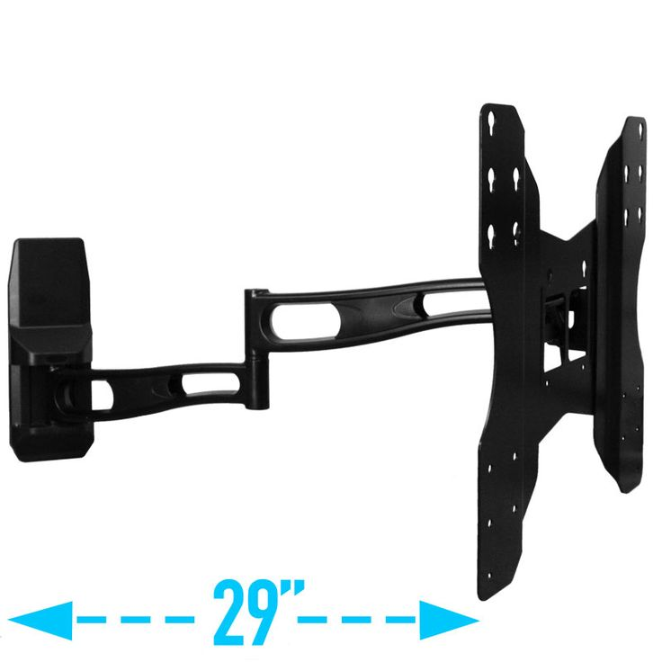 Full Motion TV Wall Mount with Long Extension for 21 to 42 Inch LCD, LED, Plasma Samsung, LG, VIZIO, Sony TV's   AV-Express