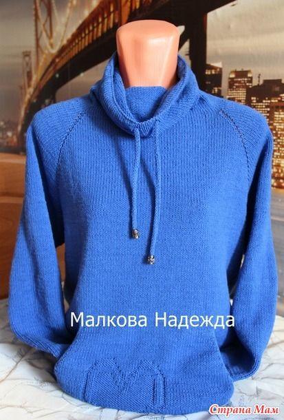 Доброго всем времени суток, СМ! Хотелось бы показать Вам мою новую работу, связанную в онлайне  http://www.stranamam.ru/  Ниточки у меня вот такие:
