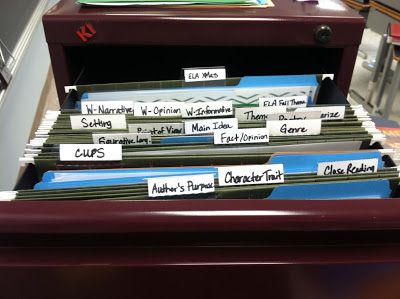 (Yes! More ideas on staying organized, could add writing center to this as well.) Math and Reading center organization