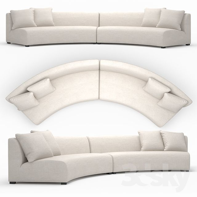 Cue Curve Sofa Curved Round
