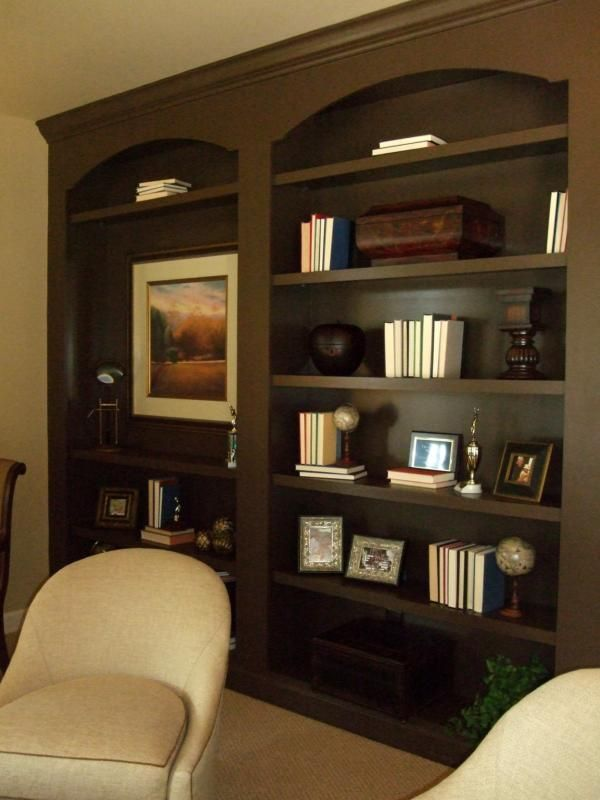 Built In Bookcases And Bookshelves Examples At The Top