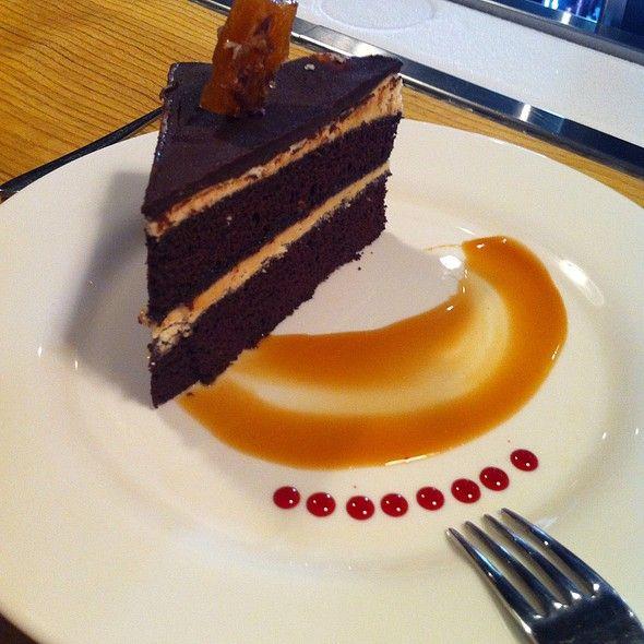 Chocolate Caramel Cake @ OX #Guelph