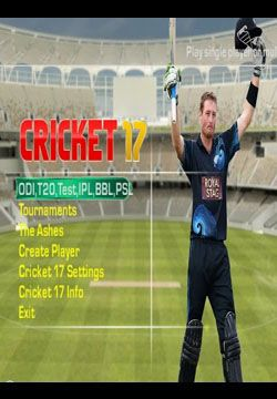 Full Version PC Games Free Download: EA Sports Cricket 17 Full PC Game Free Download
