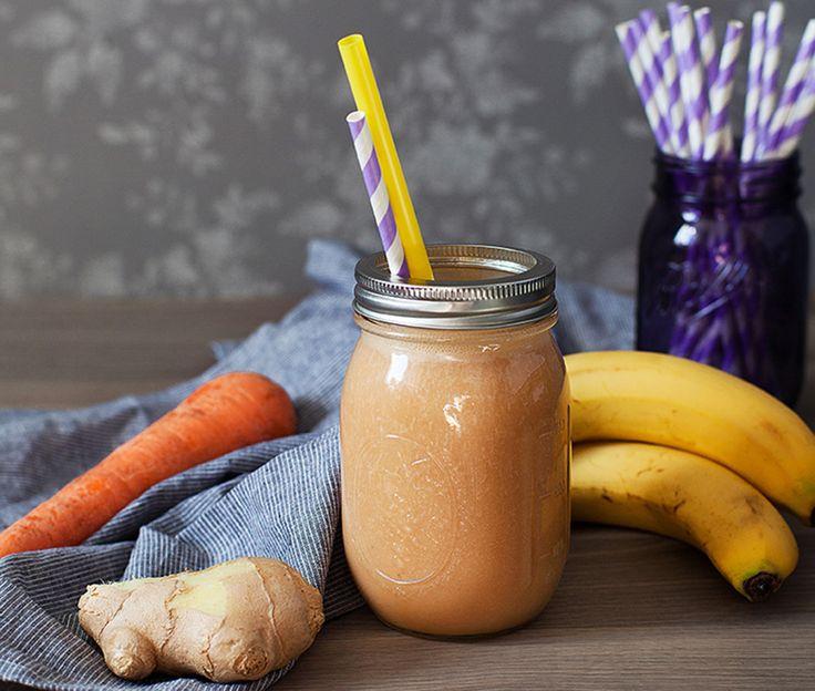 Морковно-имбирный смузи - рецепт - как приготовить - ингредиенты, состав, время приготовления - Леди Mail.Ru