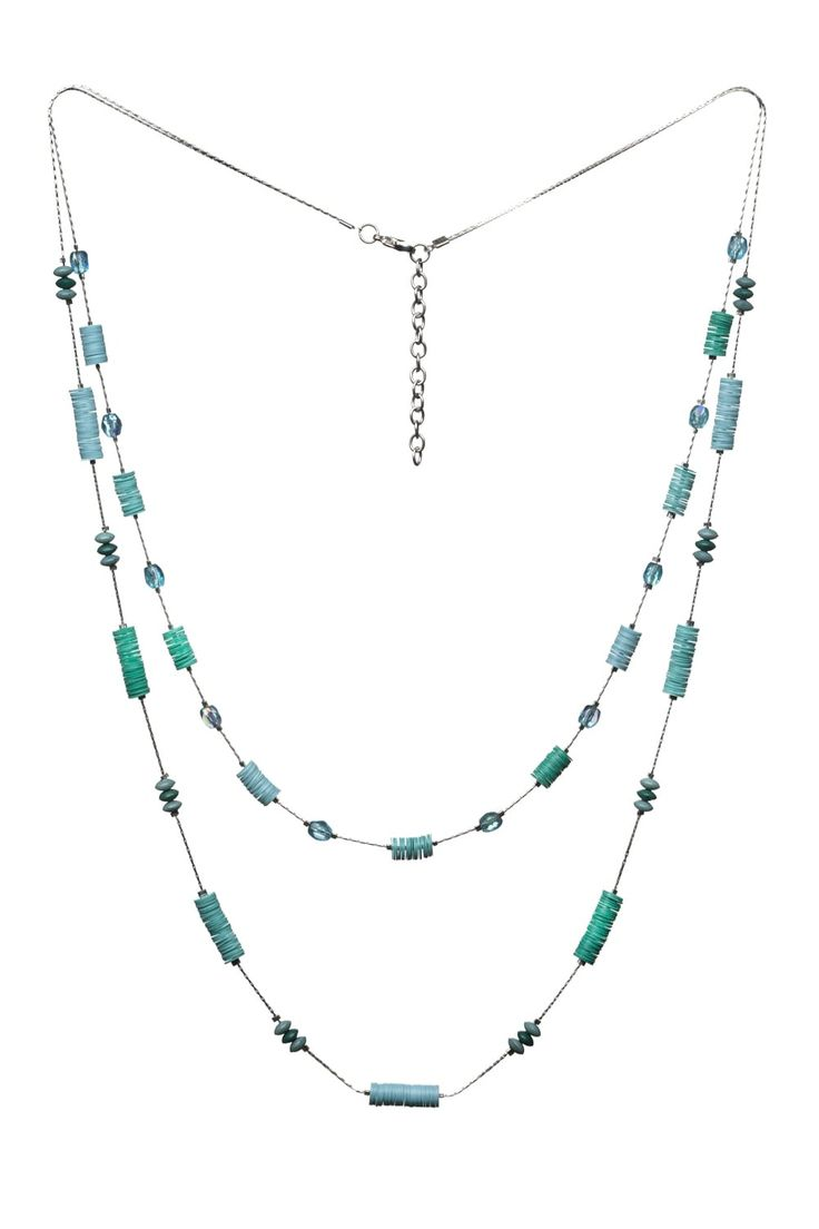 Delightful Dazzle Necklace  http://www.mistral-online.com/accessories-c10/jewellery-c43/necklaces-c77/delightful-dazzle-necklace-in-tonal-teals-aquifer-p27859