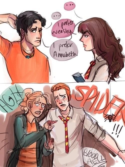 Percy Jackson/Harry Potter